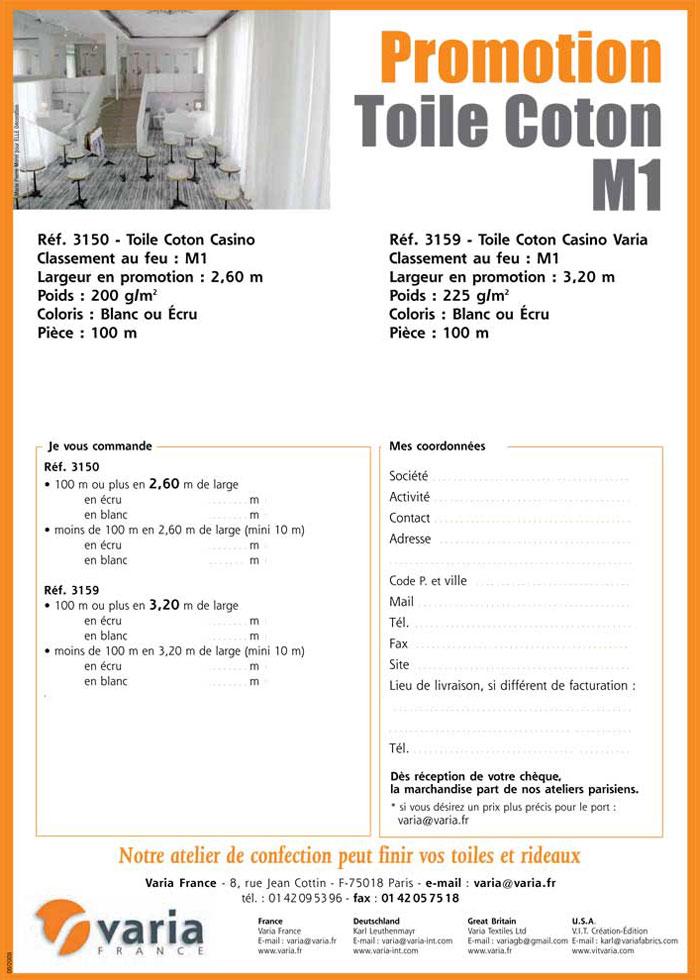 3150-3159 Toile Coton