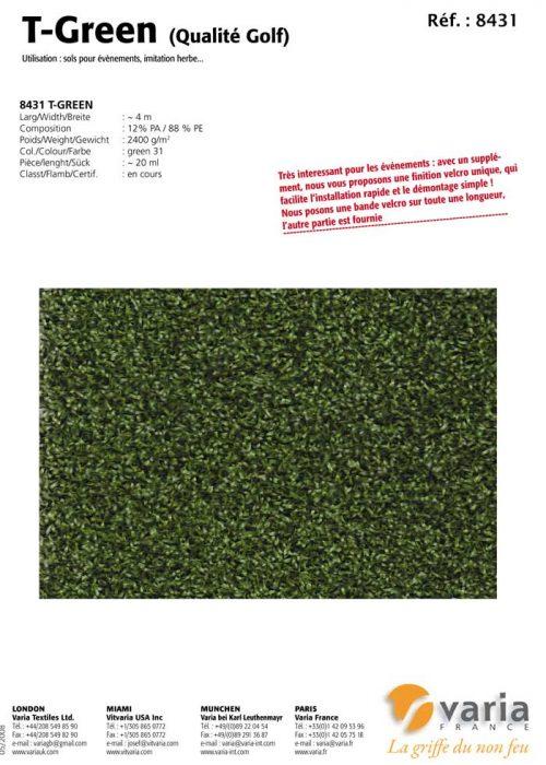 8431-34 T-Green