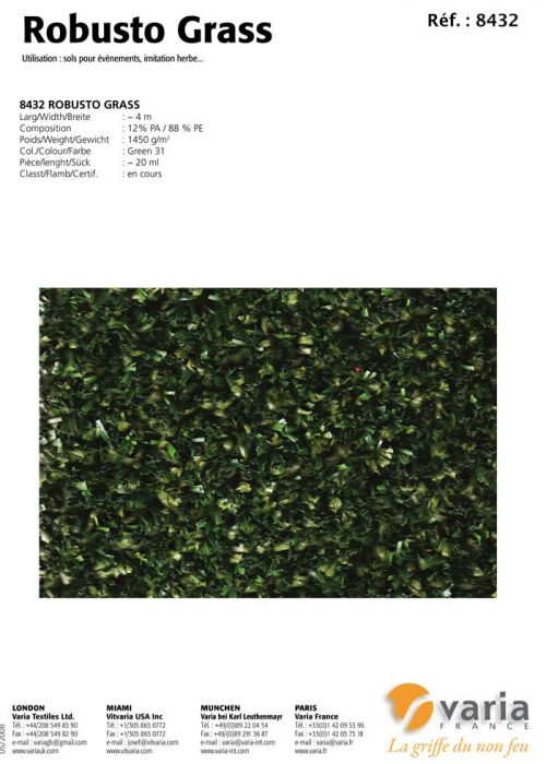 8431-34 Robusto Grass