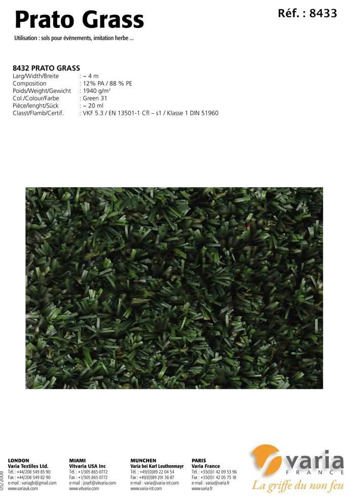 8431-34 Prato Grass