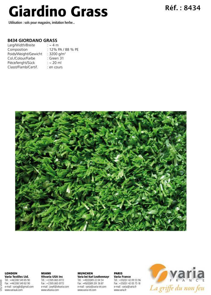 8431-34 Giordano Grass