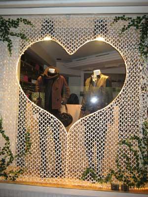 Half heart feuillage