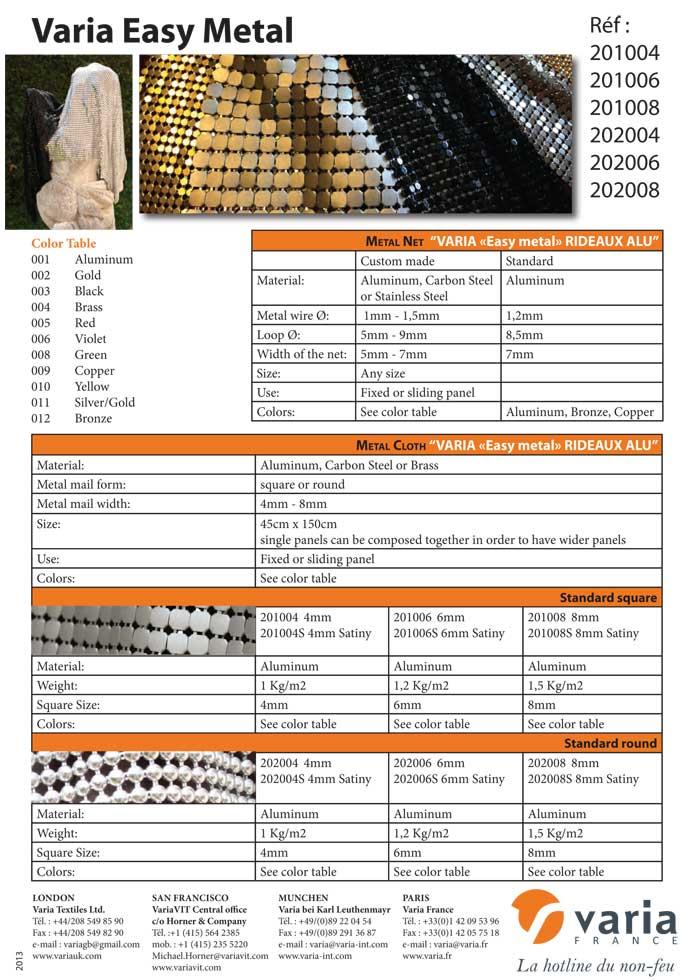 201004-202008 Varia Easy Metal