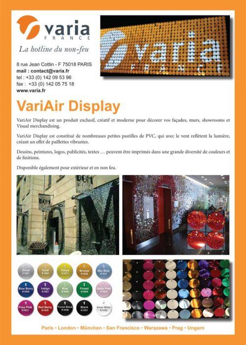 2620 VariAir Display