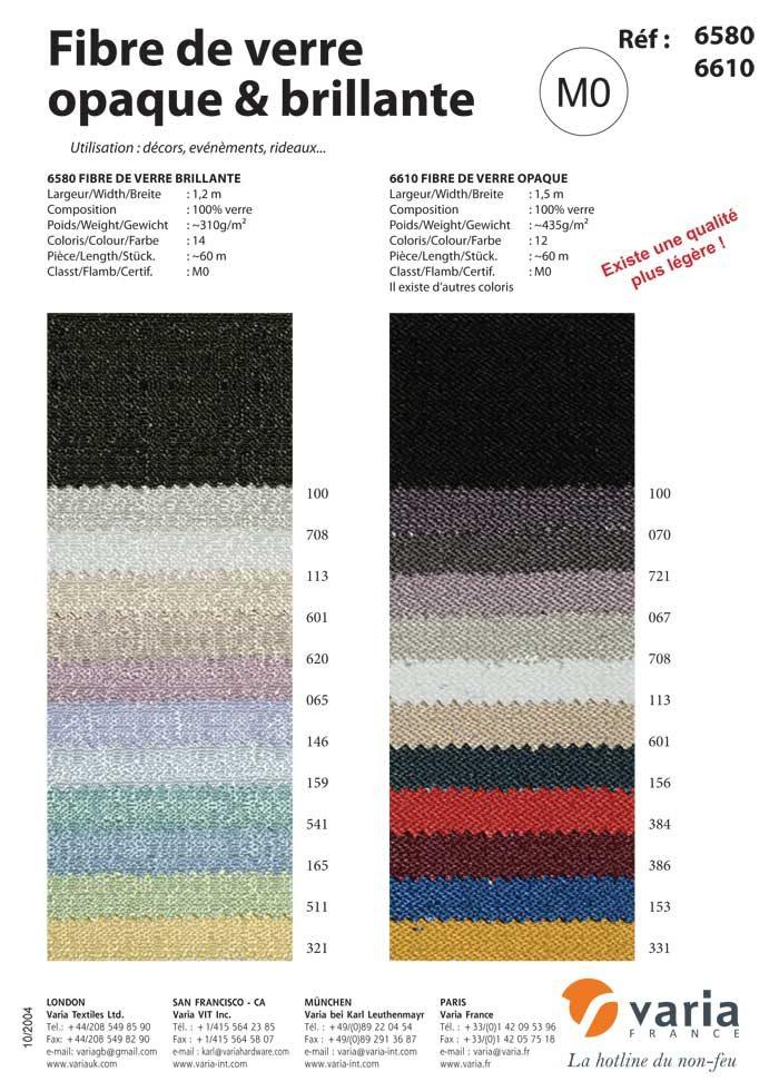 6580-6610 Fibre de Verre Opaque & Brillante