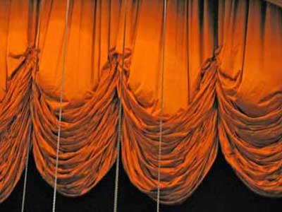 the great stage curtain